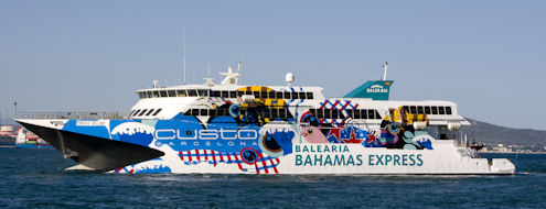 Ft. Lauderdale <> Bahamas Ferry Pinar Del Rio