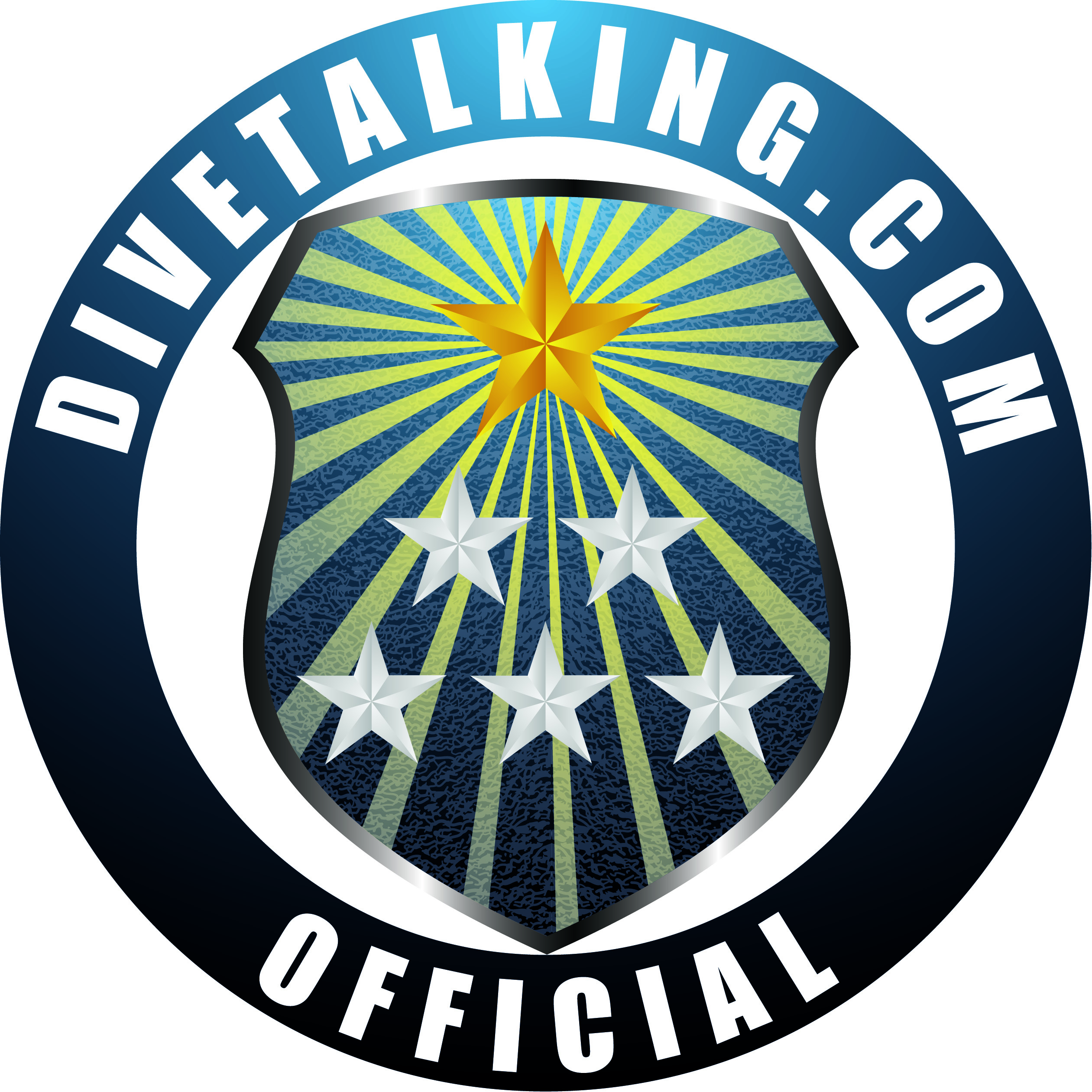 Show your support by displaying Divetalkings official logo