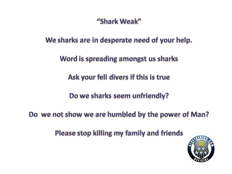 Turn Shark Week into Shark Weak